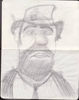 Sketchbook: Hobo by wicked-nice