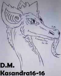 Fantasy dragon by Kasandra16-16
