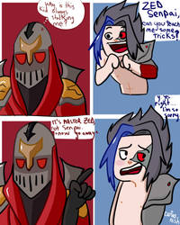 Master Zed by MaryNoewan