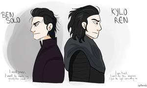 Kylo Ren/Ben Solo