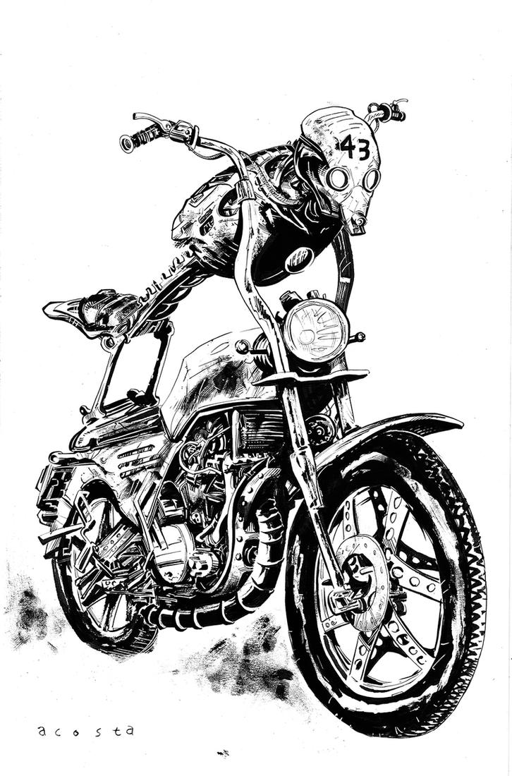 Moto Man by Dave-Acosta