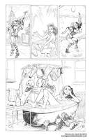 Harley Quinn Tryout Page by Dave-Acosta