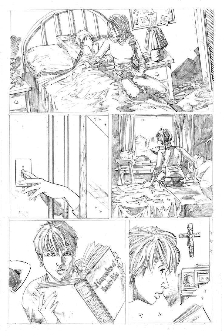 Chastity 04 page20 pencils by Dave-Acosta