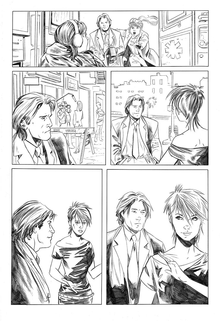 Chastity 06 21 pencils by Dave-Acosta