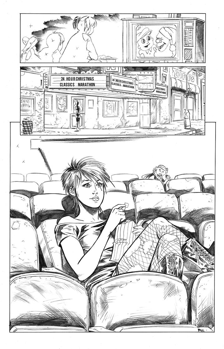 Chastity 06 22 pencils by Dave-Acosta