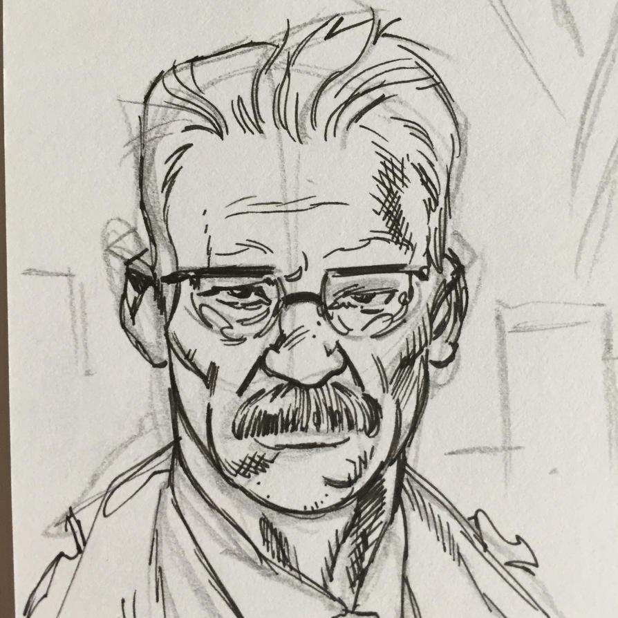 Jim Gordon sketch. by Dave-Acosta