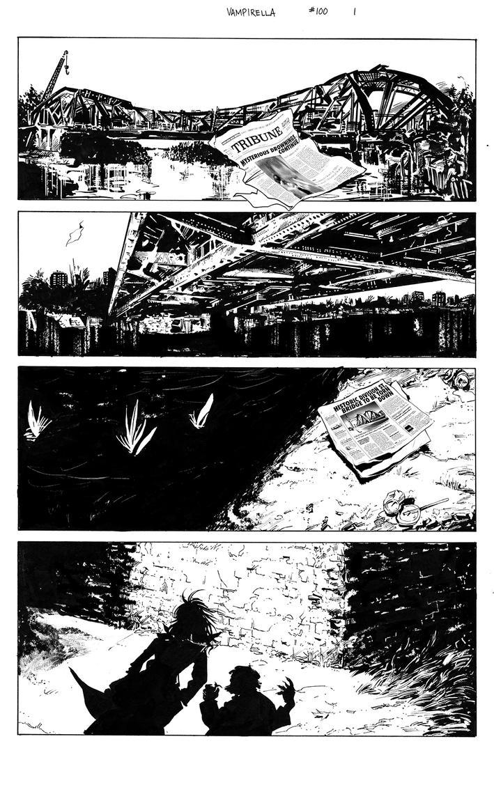 Vampirella The VODNIK page 01 by Dave-Acosta