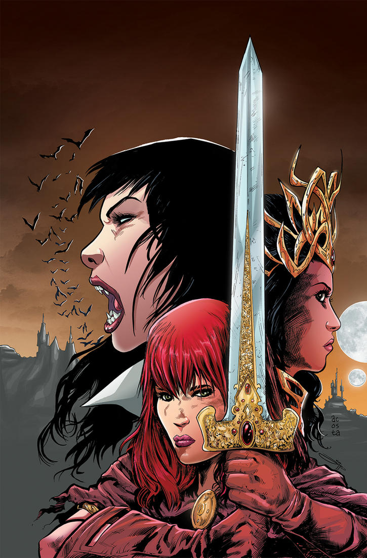 Swords of Sorrow 1 Variant Cover by Dave-Acosta