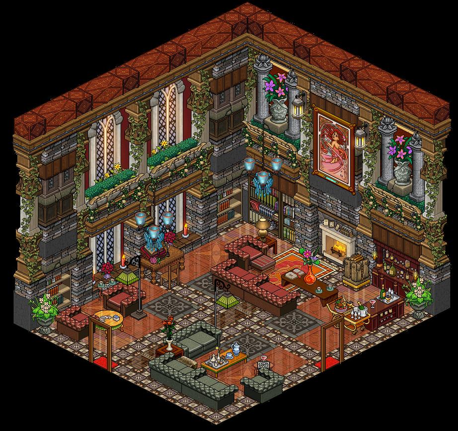 Living Room By Cutiezor On DeviantArt