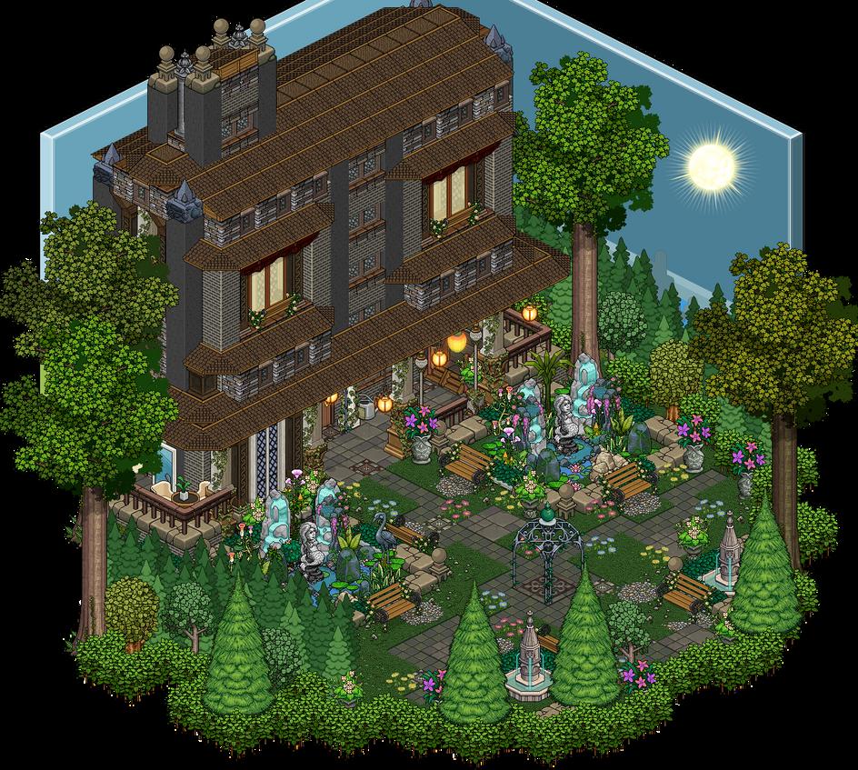 Mansion Garden By Cutiezor On Deviantart