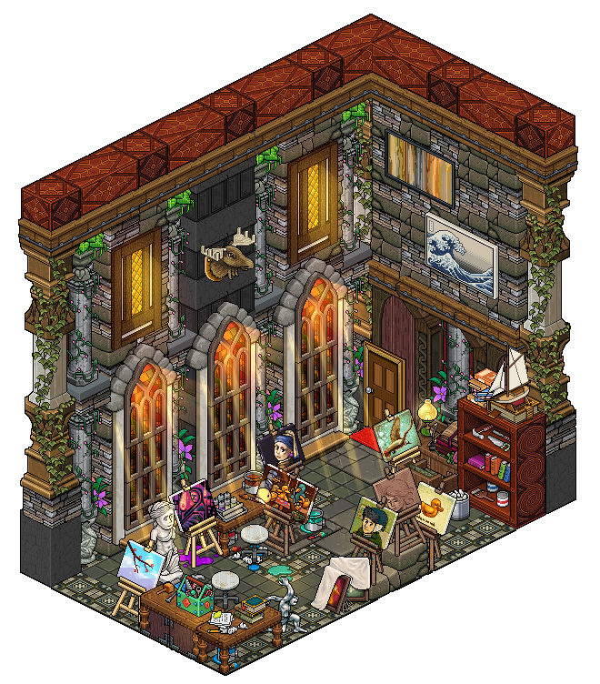 Home Design Ideas Game: Hobby Room By Cutiezor On DeviantArt