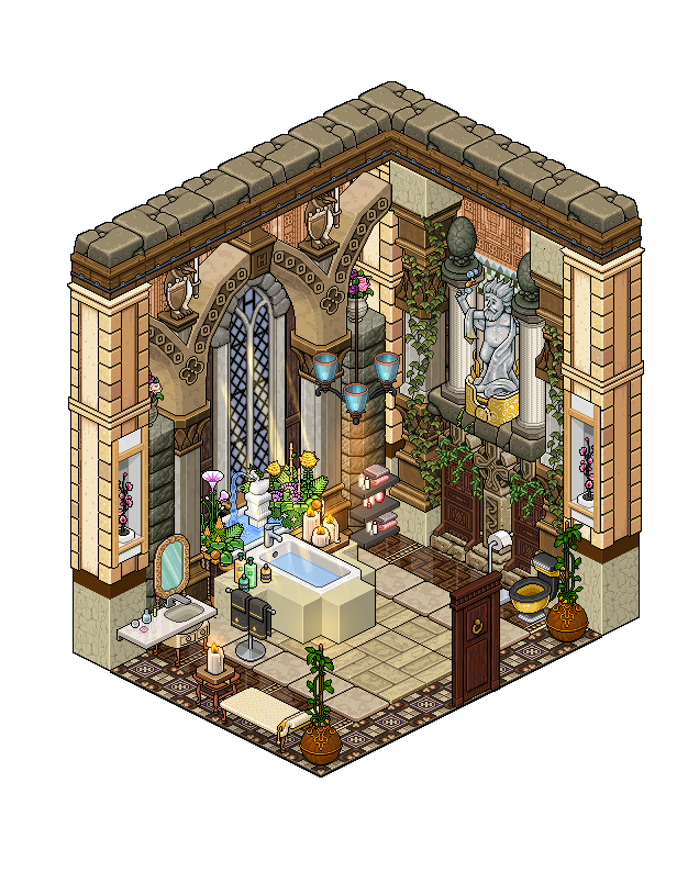 Mansion   Bathroom 2 by Cutiezor. Mansion   Bathroom 2 by Cutiezor on DeviantArt