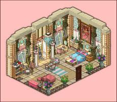 Mansion - Bedroom Rosalina by Cutiezor