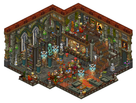 Mansion - Library