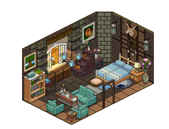Habbo bedroom