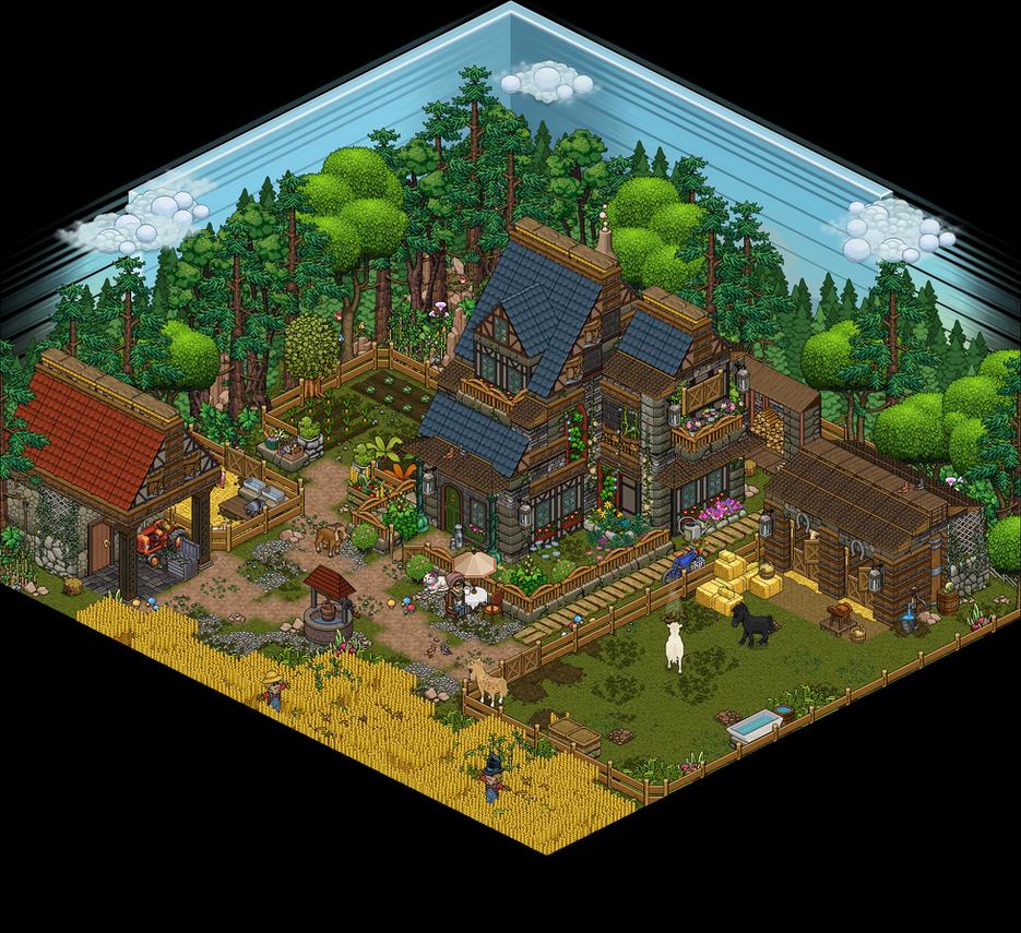 Pixel farm! by Cutiezor on DeviantArt