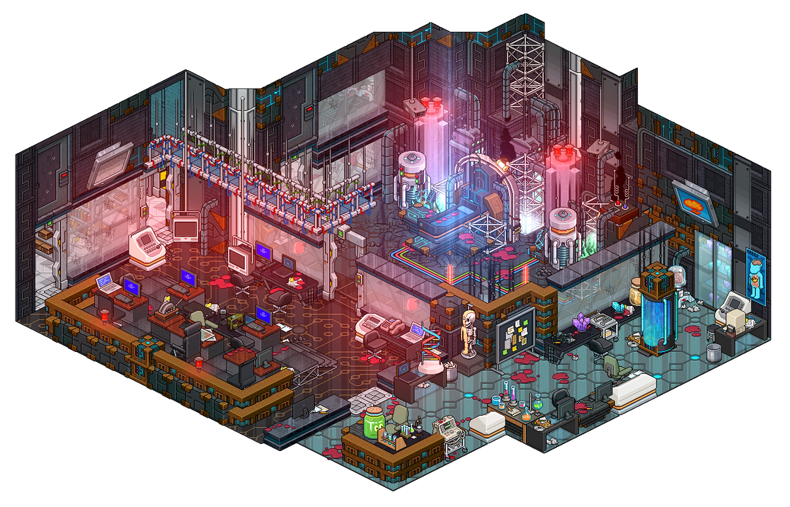 Evil Lab by Cutiezor on DeviantArt