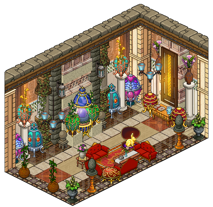 Mansion Eggs Collection Room By Cutiezor On Deviantart