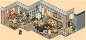 Modern Living Room Appartement