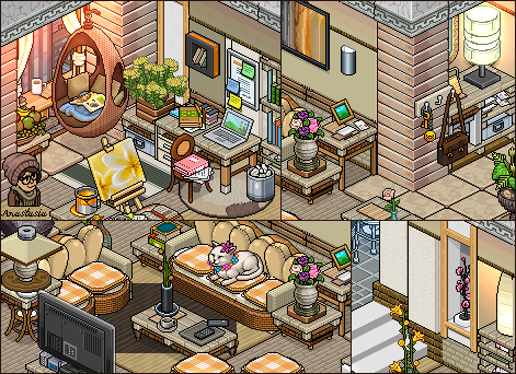 Modern apartment livingroom picture by cutiezor on deviantart for Design hotel games