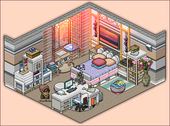 Apartment bedroom for girls by cutiezor on deviantart for Design hotel games