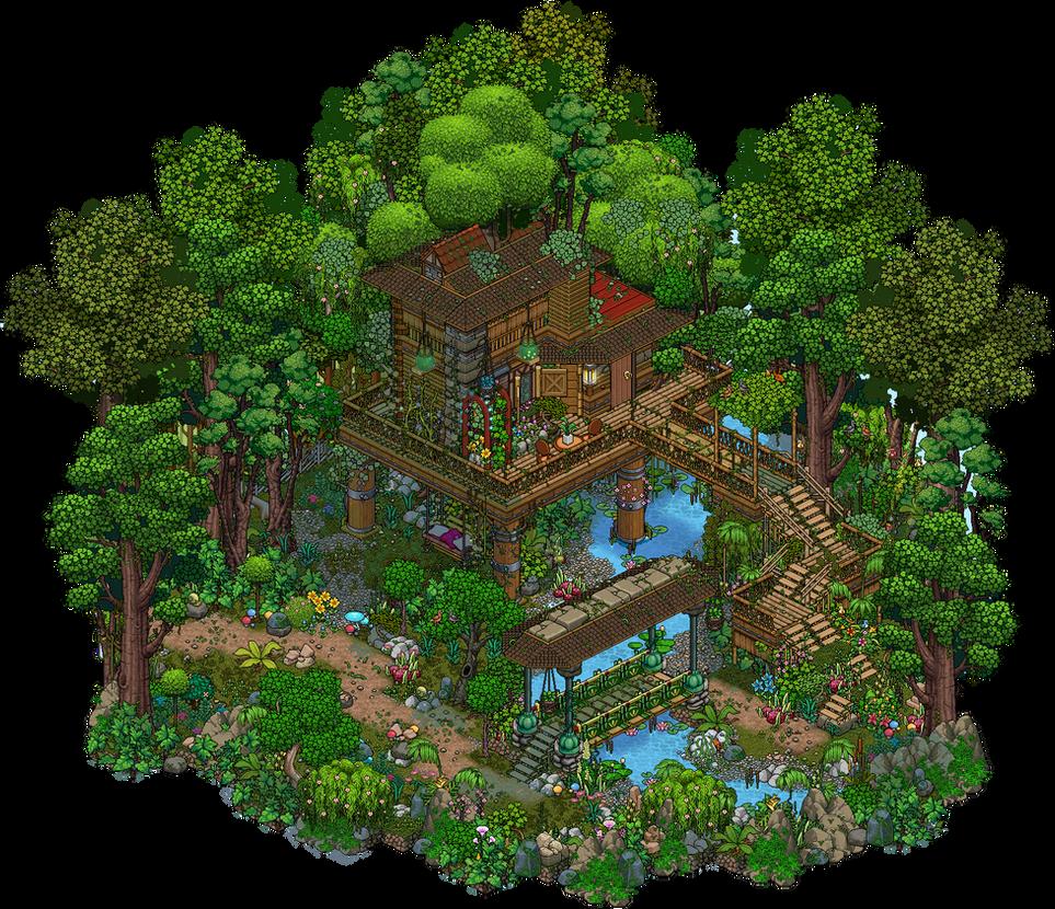 Jungle Treehouse By Cutiezor On Deviantart