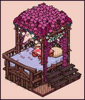 Jungle bed design by Cutiezor