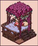 Jungle bed design