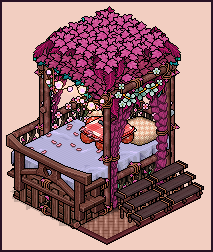 Jungle bed design by Cutiezor