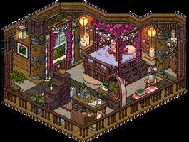 Jungle Bedroom by Cutiezor