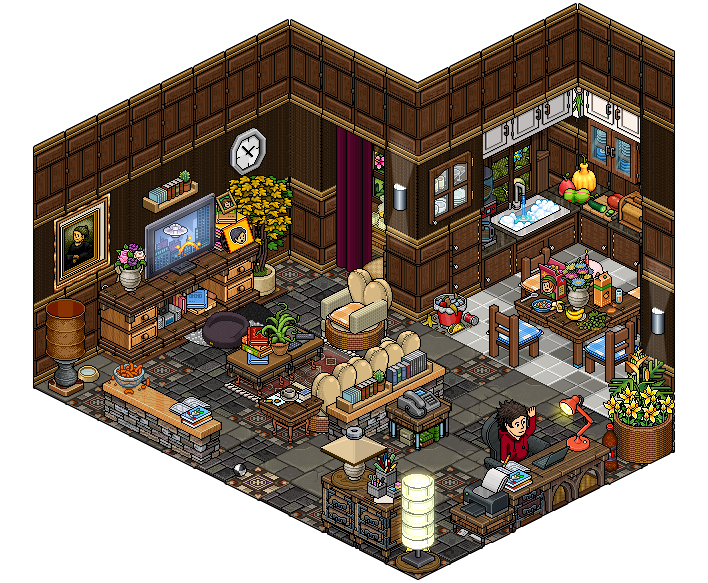 Living Room Habbo