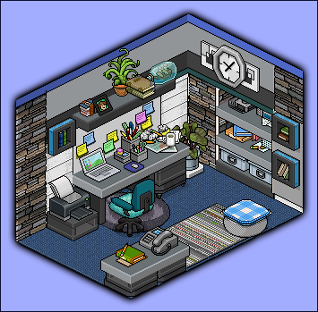 Studyroom design by cutiezor on deviantart for Design hotel games