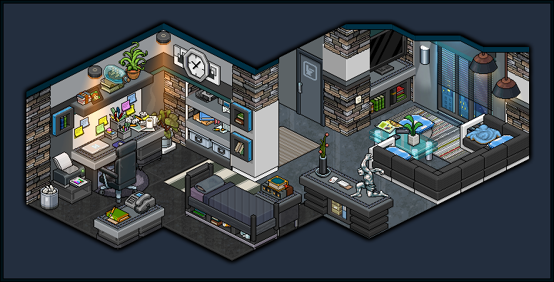 Modern apartment bedroom for male design by cutiezor on for Design hotel games