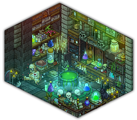 Witch S Potion Room By Cutiezor On Deviantart