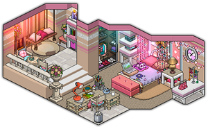 101 % girly bedroom design