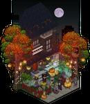 Halloween 2016 - frontdoor decoration design