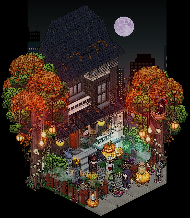 halloween 2016 frontdoor decoration design by cutiezor