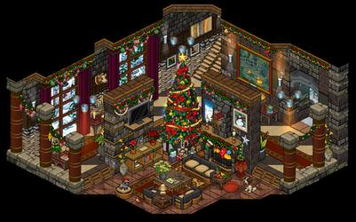 Christmas 2016 Livingroom by Cutiezor