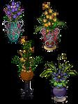 Flower stacking