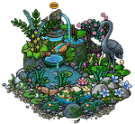 Little garden pond design
