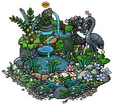 Little garden pond design by Cutiezor
