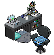 Work desk design by Cutiezor