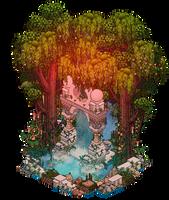 Ancient portal by Cutiezor