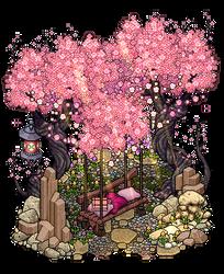 Cherry blossom seat by Cutiezor