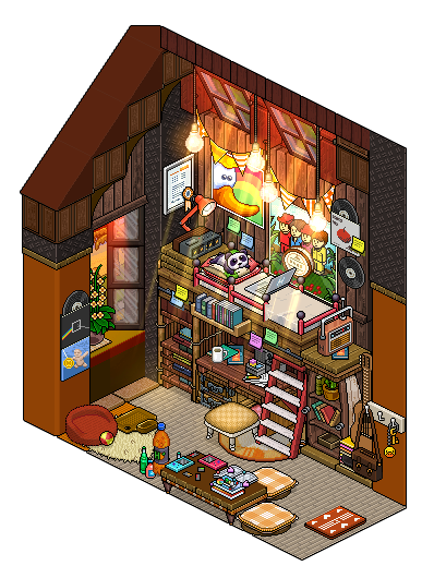 Attic bedroom design by cutiezor on deviantart for Design hotel games