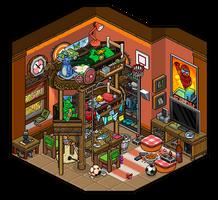 Adventure bedroom design by Cutiezor