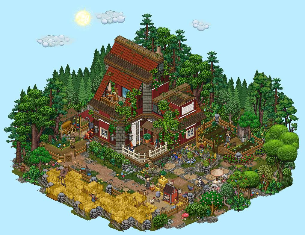 Farm house by Cutiezor