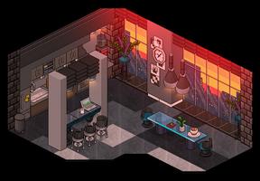 Modern Kitchen by Cutiezor