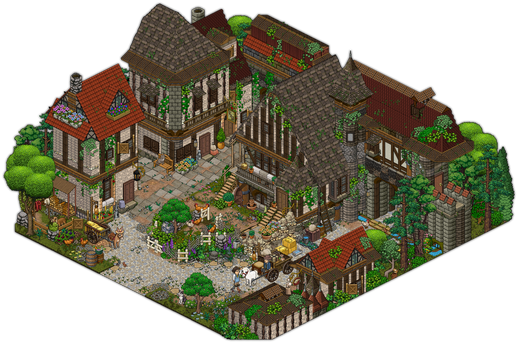 Beauty and the beast ~ Belle's house Villeneuve