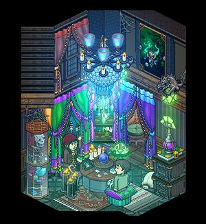 Madam Una ~ Fortune teller's room